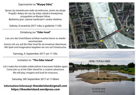 Invitacion The Oder Island